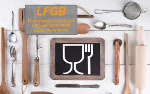 LFGB Zertifikat Amazon FBA